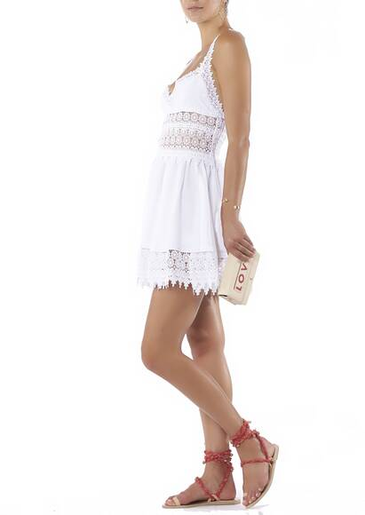 Charo Ruiz Dress Marylin white