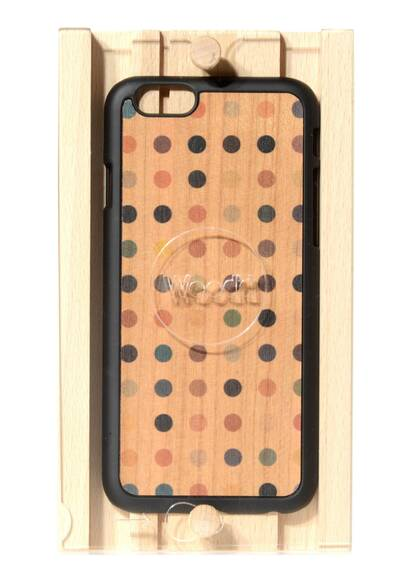 Wood'd iPhone 6 Case 'Colored Pois'