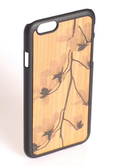 Wood'd iPhone 6 Case 'Cherry Flower'