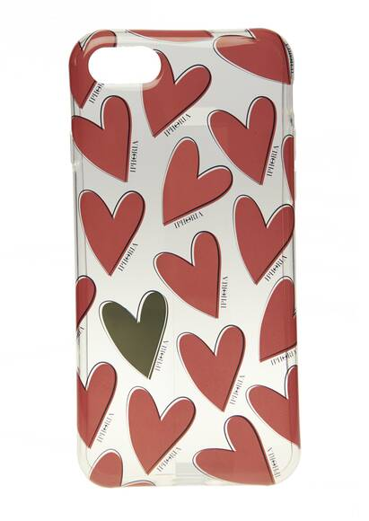 Iphoria I-Phone Case 7/8 – Hearts Red, Case for Apple