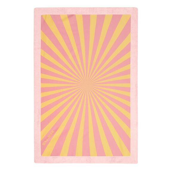 Sun of a Beach Signature Beach Towel, Lollipop
