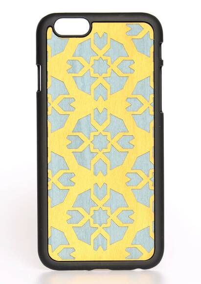 Wood'd iPhone 6 Case 'Byzantine Yellow'