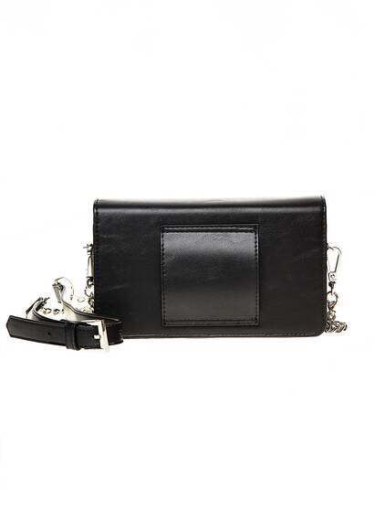 Iphoria Micro Shoulder / Belt Bag - Plate Icons Black with Charm