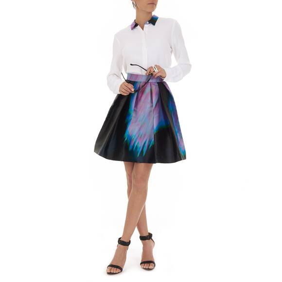 Christine Phung Skirt Multicolored