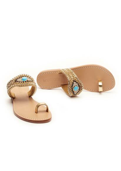 Mystique Sandal Jerusalem Gold