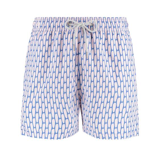 Staniel Swim Short, Polka Palms