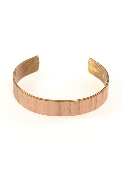 Bolivar Bracelet Made of Wood and Brass
