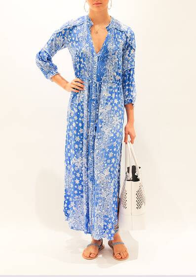 Printed Tunica Dress Ilona