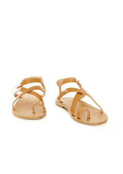 Sandals Arica Ledersandale Tan
