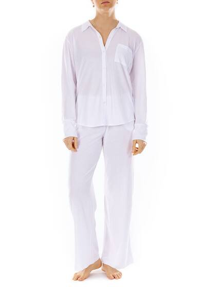 Kaelyn Pant, white