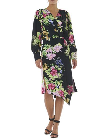 Dress UGO with Floral Print
