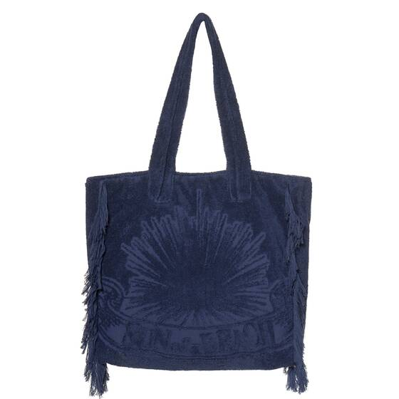 Tote Beach Bag, Just Navy