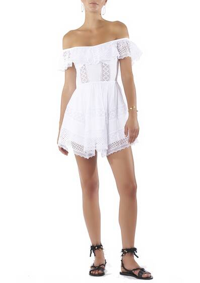 Dress Short Vaiana White