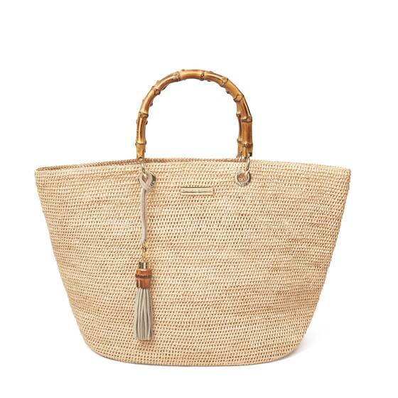 Savannah Bay Medium Bamboo Bag