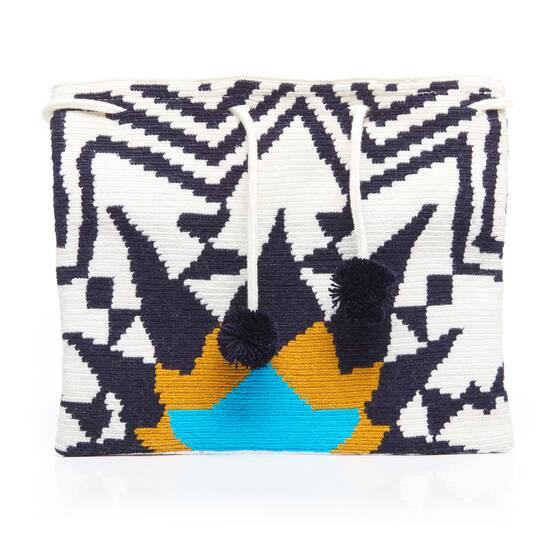 Lia Clutch with Zip Top