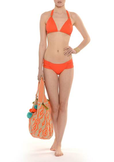 Every Day Halter Bikini Orange