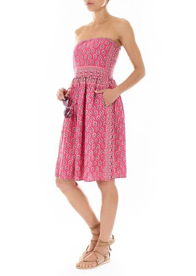 Dress in Fuchsia, Norla