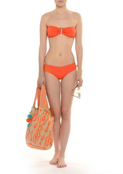 Every Day Bandeau Bikini Orange