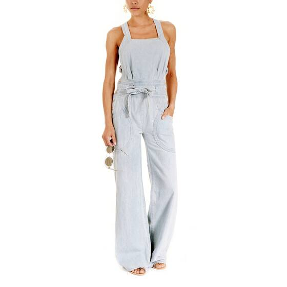 Suvi Denim Jumpsuit