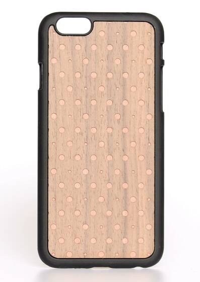 iPhone 6-Hülle aus Holz Bling Pink