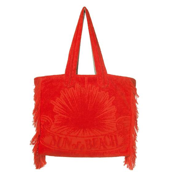 Tote Beach Bag, Just Orange