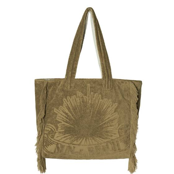 Tote Beach Bag, Just Olive