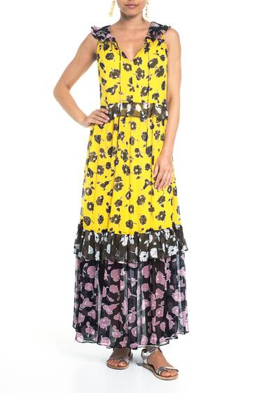 Haven Dress, yellow