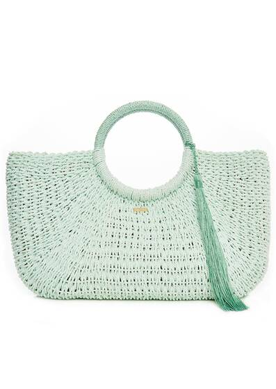 Beach Bag Sorrento, mint