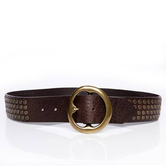 Belt Leather with Studds