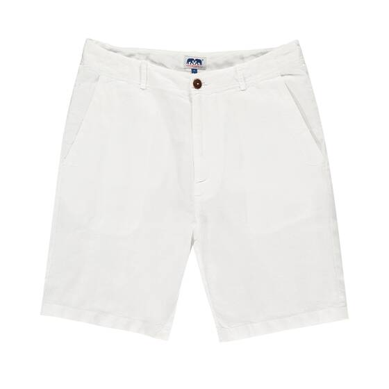 Burrow Linen Short, White