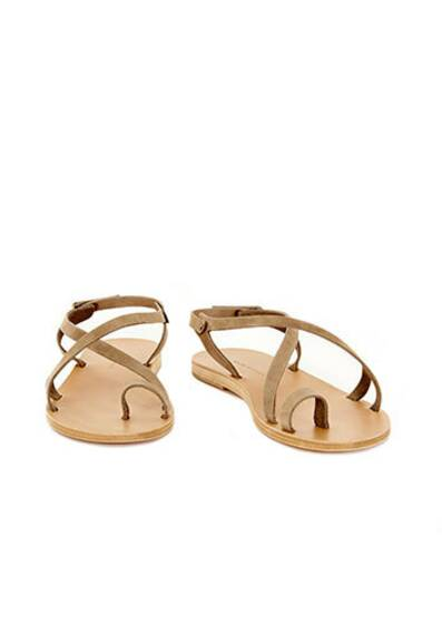 Olina Leather Sandals Fossil