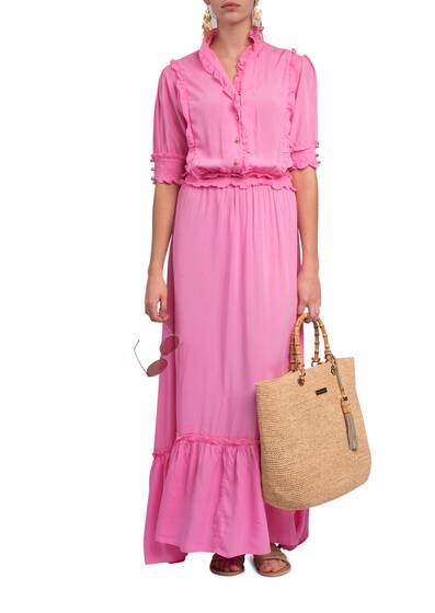 Langes Kleid Talitha, rose