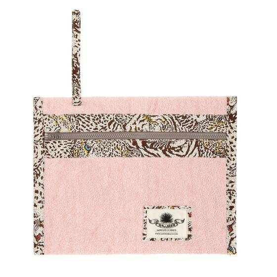 Holiday Pochette, Savanna Pink