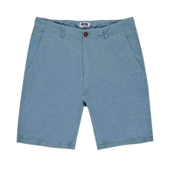 Burrow Linen Short, French Blue