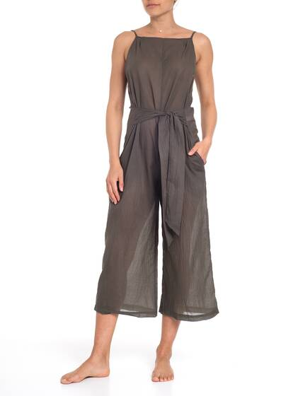 Jumpsuit, dark olive