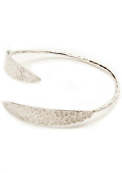 Bracelet Pompei d'Argent, small size, dipped in a silver bath