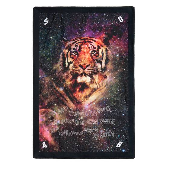 Signature Beach Towel, Galactic Tiger