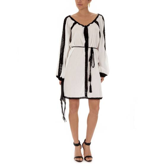 Tunic Dress Black/White