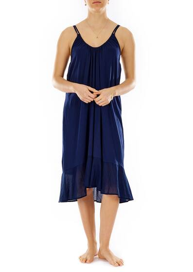 Juliet Chemise Nightdress, darkblue