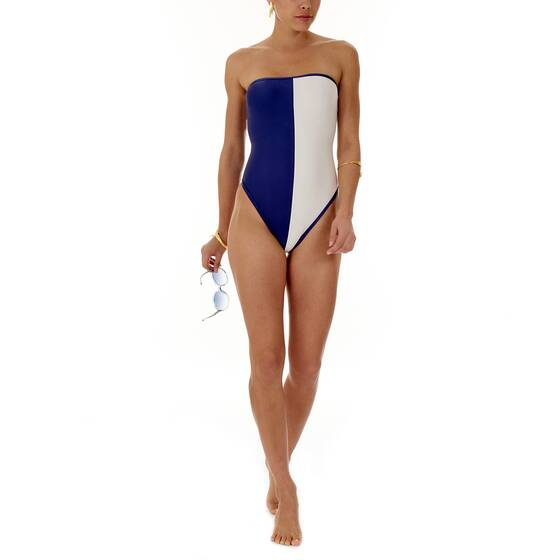 Strapless Swimsuit Two Color