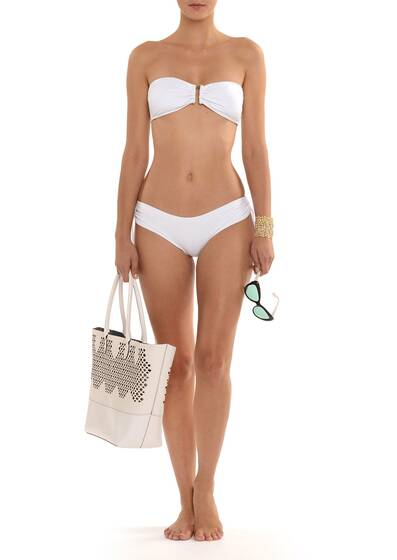 Every Day Bandeau Bikini White