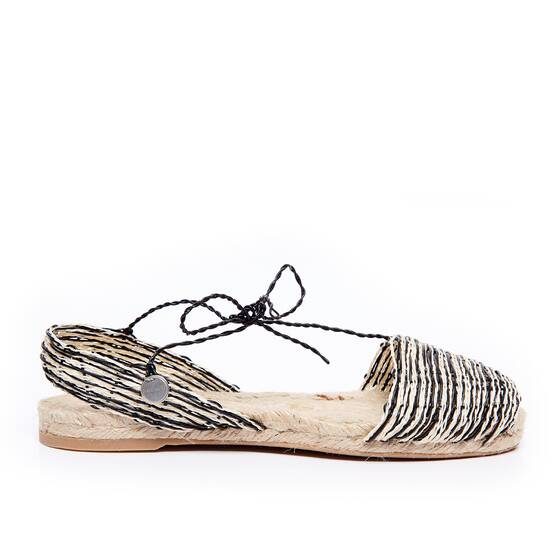 Espadrilles Black Home Mix