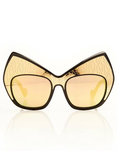 Sonnenbrille Mourning for Miss Blow, schwarz