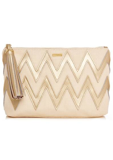 Crete Bag, cream/gold