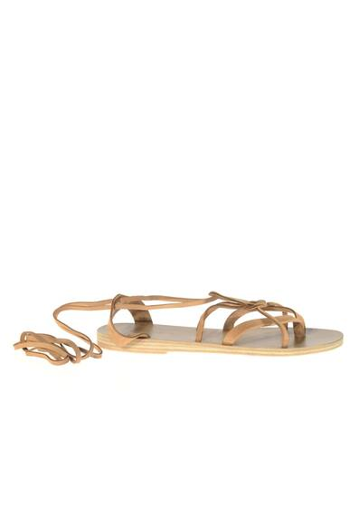 Chloe Leather Sandals Tan