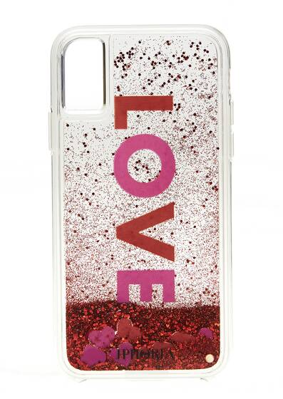 I Phone X Case - Love Liquid Case for Apple