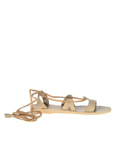 Armathia Leather Sandals Khaki/Beige/Tan