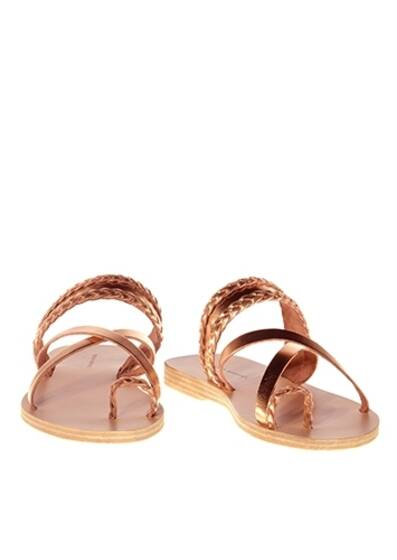 Sandals Vanilla Rum Ledersandale Rose Metal