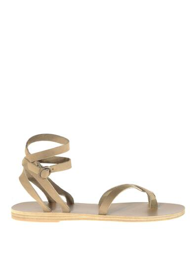 Malabar Leather Sandals Khaki/Beige