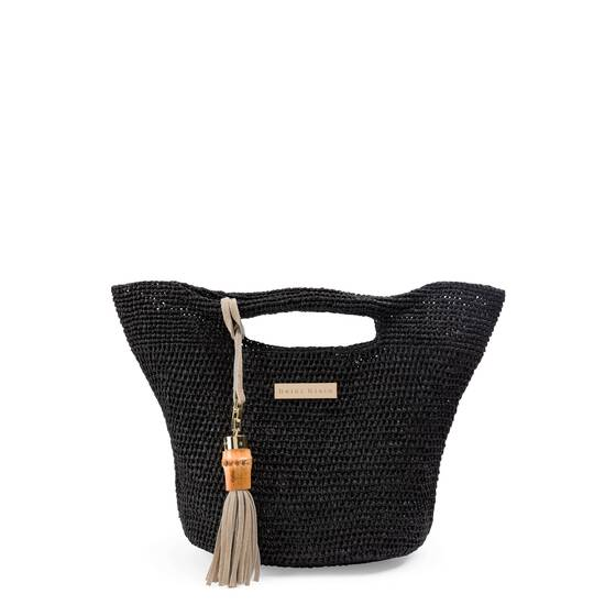 Grace Bay Super Mini Raffia Bucket Bag